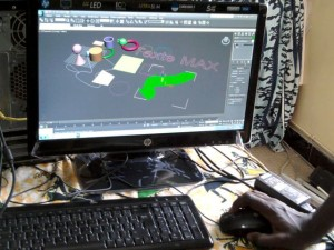 Présentation du logiceil Auto desk 3D Max 5crédit photo Ameth DIA)