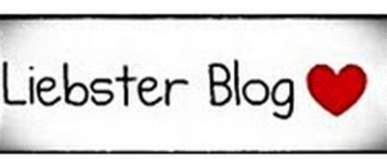 Article : Liebster Blog, c'est mon tour on dirait